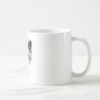 Mug Visage de loup. Image de faune de Digitals