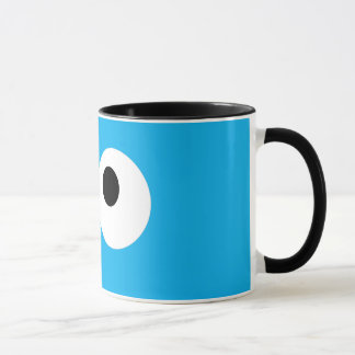 Mug Visage de monstre de biscuit grand