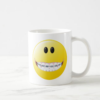 Mug Visage de smiley de croisillons