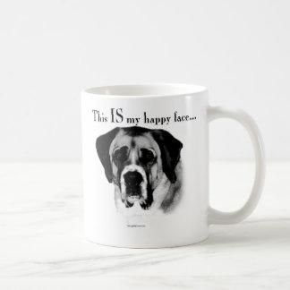 Mug Visage heureux de St Bernard