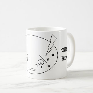 Mug Visage pleurant d'attaque de migraine dans la