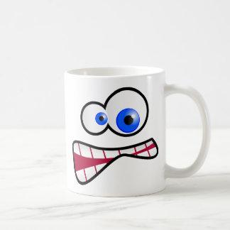 Mug Visage soumis à une contrainte