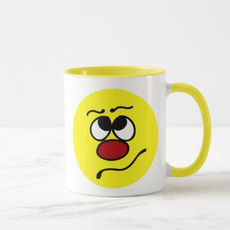 Mug Visage souriant confus Grumpey