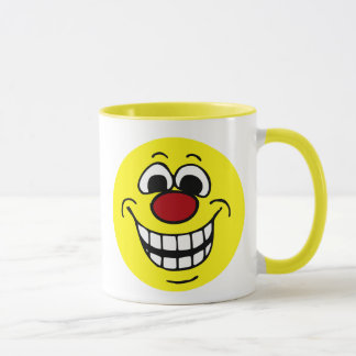 Mug Visage souriant gai Grumpey
