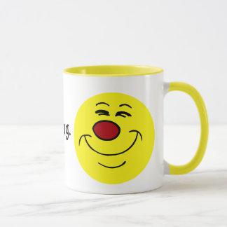 Mug Visage souriant suffisant Grumpey