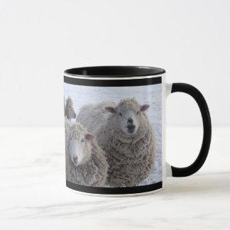 Mug Visages de moutons de janvier deux