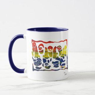 Mug Visages par Kevin LaRiviere