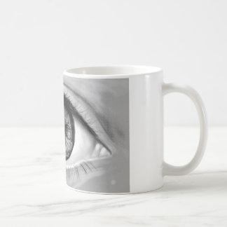 Mug Vision de double d'oeil de crâne