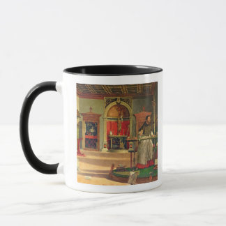Mug Vision de St Augustine, 1502-08 (huile sur la