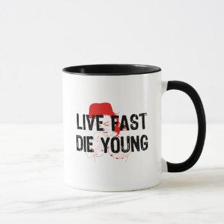 Mug Vivez rapidement, mourez des jeunes
