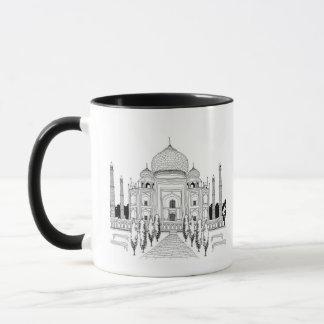 Mug Voie par le Taj Mahal
