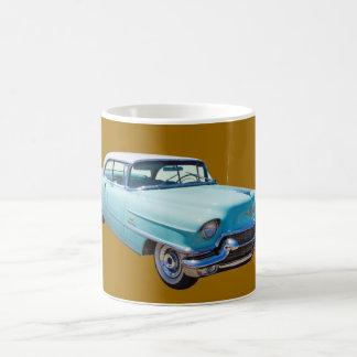 Mug Voiture 1956 de luxe de Deville Cadillac de