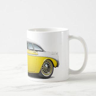 Mug Voiture 1956 Jaune-Blanche de Chevy Belair