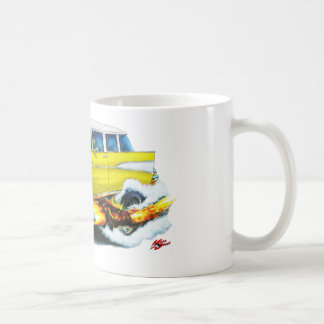 Mug Voiture 1957 de jaune de nomade de Chevy