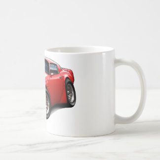 Mug Voiture 1979-81 de rouge du transport AM