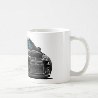 Mug Voiture noire de Mitsubishi Evo