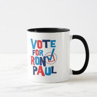 Mug Vote pour l'élection 2012 de Ron Paul