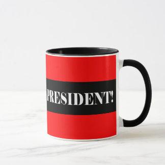 Mug Votez non pour le président