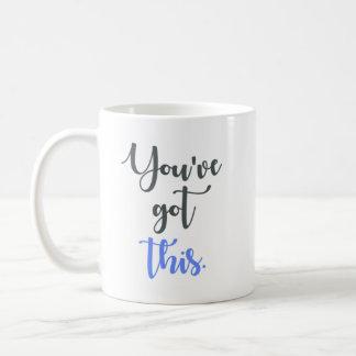 Mug Vous avez cette calligraphie