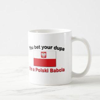 Mug Vous avez parié votre Dupa… Babcia