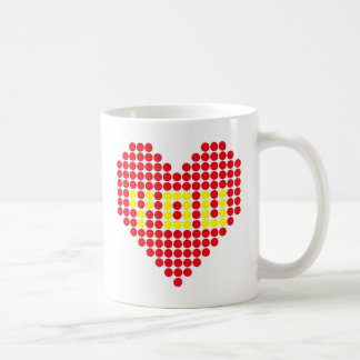 Mug Vous êtes à l'intérieur de mon coeur