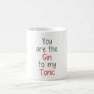 Mug Vous êtes le genièvre à mon tonique
