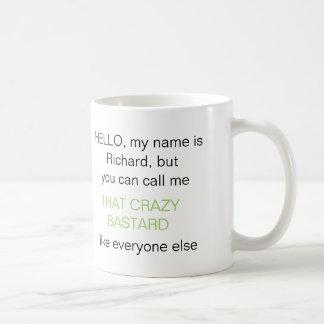 """Mug """"Vous pouvez m'appeler"""" do-it-yourself ID233 vert"""