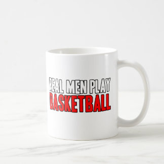 Mug Vrai basket-ball de jeu d'hommes