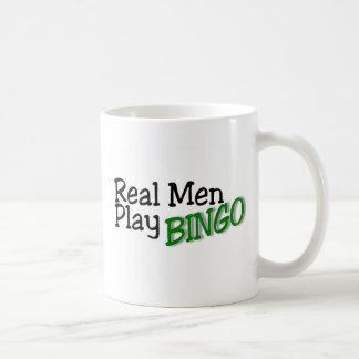 Mug Vrai bingo-test 3 de jeu d'hommes