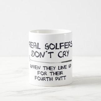 Mug Vrai cri de don´t de golfeurs