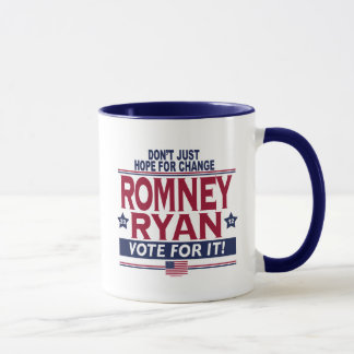 Mug Vrai espoir 2012 de Romney Ryan