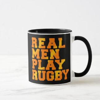 Mug Vrai rugby de jeu d'hommes
