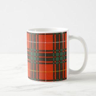 Mug Vrai tartan écossais - Bruce - dessiné par Nekoni