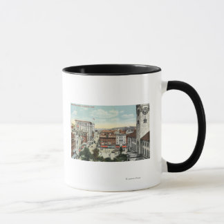 Mug Vue aérienne de coin de Harrington