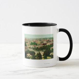 Mug Vue aérienne de la ville