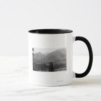 Mug Vue aérienne de la ville 5