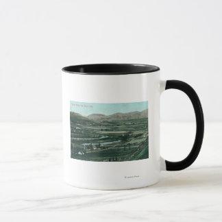 Mug Vue aérienne de mission ValleySan Diego, CA