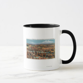 Mug Vue aérienne de parc de point d'inspiration