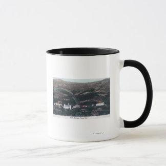 Mug Vue aérienne de soude SpringsNapa, CA