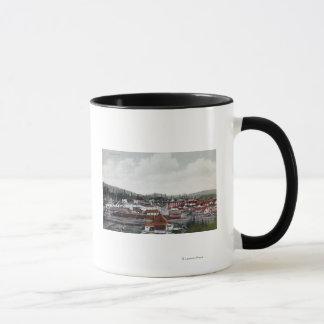 Mug Vue aérienne de ville