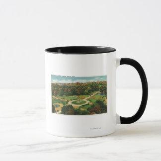Mug Vue aérienne des jardins publics # 2