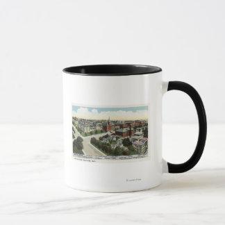 Mug Vue aérienne d'hôpital de ville