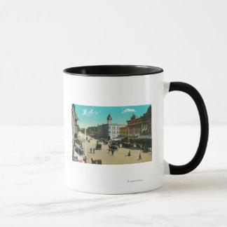 Mug Vue aérienne d'I StreetModesto, CA