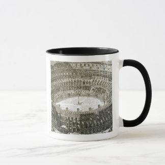Mug Vue aérienne du Colosseum à Rome des 'vues o