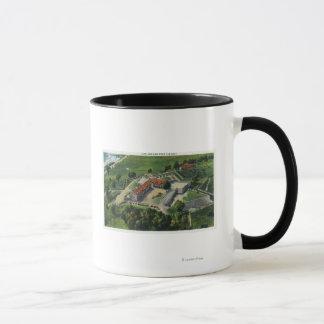 Mug Vue aérienne orientale des au sol de fort