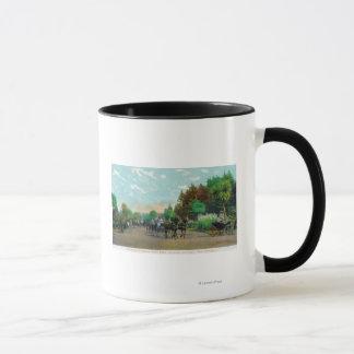 Mug Vue d'allée de Golden Gate Park