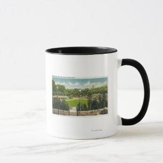 Mug Vue d'amphithéâtre de parc de Thornden