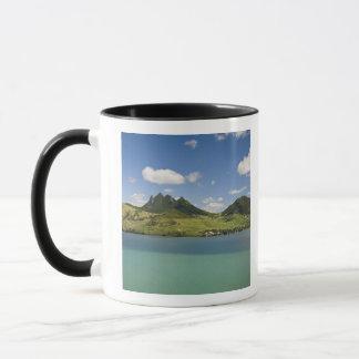 Mug Vue d'Arial de montagne de lion, du sud-est