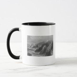 Mug Vue de château de Slaines, près de Peterhead
