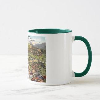 Mug Vue de cru du Colorado de parc d'Estes